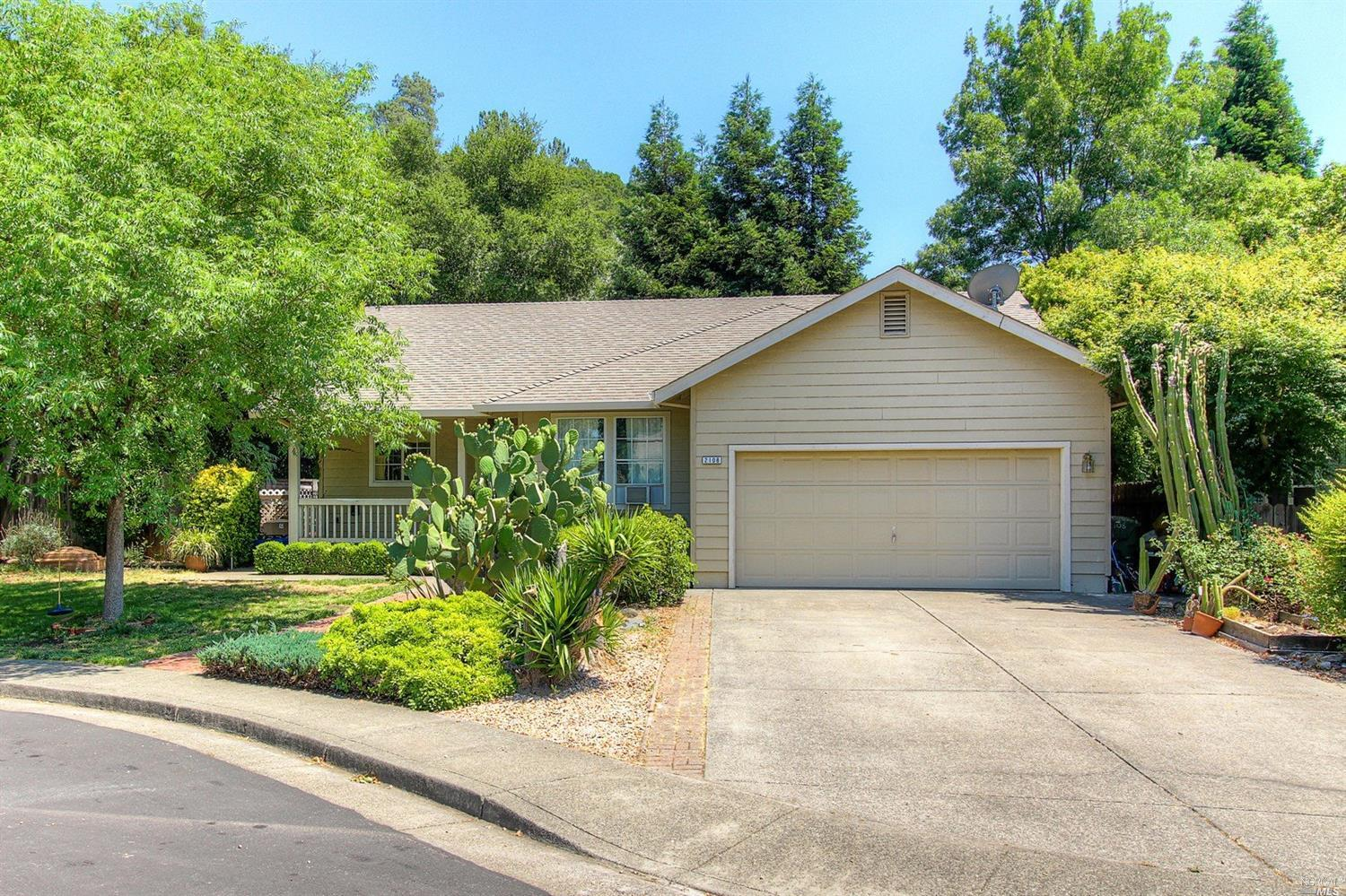 2108 Tablerock court Calistoga, CA 94515 - MLS #: 21713055